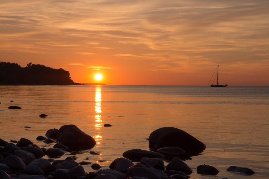Sunset_Salene_Beach_Bornholm_Yoga.dk