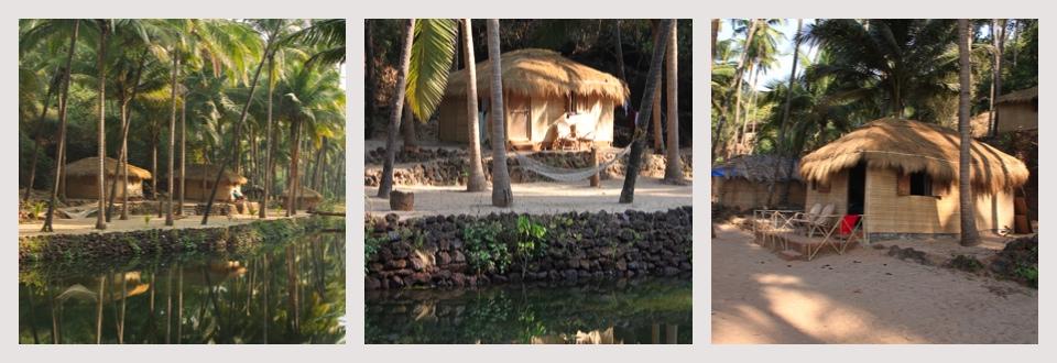 Dwarka Goa - Huts